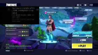 Alpha Tournament New Update fortnite
