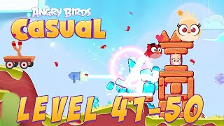Angry Birds Casual Level 41-50 - iOS / Android Walkthrough Gameplay