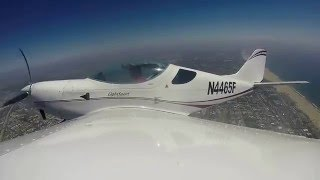 Flying a SportCruiser LSA in SoCal