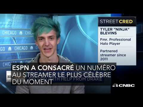 Fortnite : Ninja fait la couverture d'ESPN, plus grand magazine de sport US