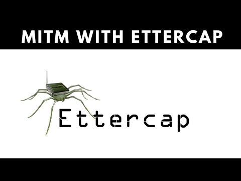 MITM Attack With Ettercap - ARP Poisoning