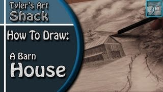 How to Draw a Barn House