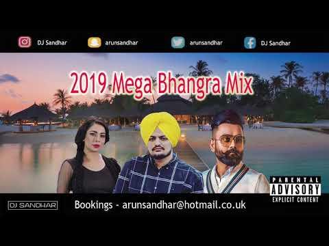 2019 Mega Bhangra Mix  Part 1  Best Dancefloor Tracks