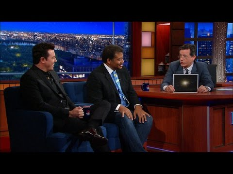 Stephen Geeks Out With Neil Tyson & Seth MacFarlane