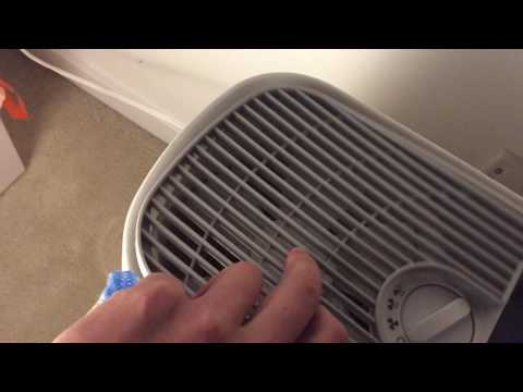 Honeywell Germ Free Cool Mist Humidifier HCM-350 Blades Cleaning