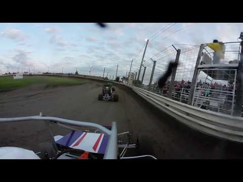 KAM Raceway 8-4 non wing heat 2 -Dunkle Motorsports (360° Camera)