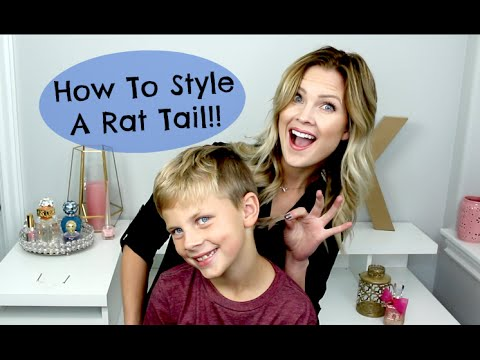 How To Style A Rat Tail!!