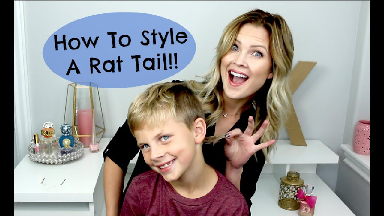 Rat Tail Hair Style: How To Style A Rat Tail!!
