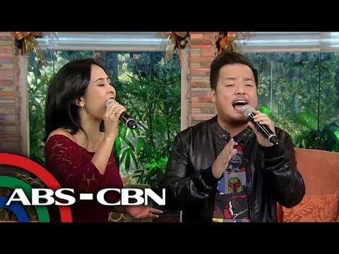 Wayback Wednesday kantahan with Rachel and Niño Alejandro | UKG