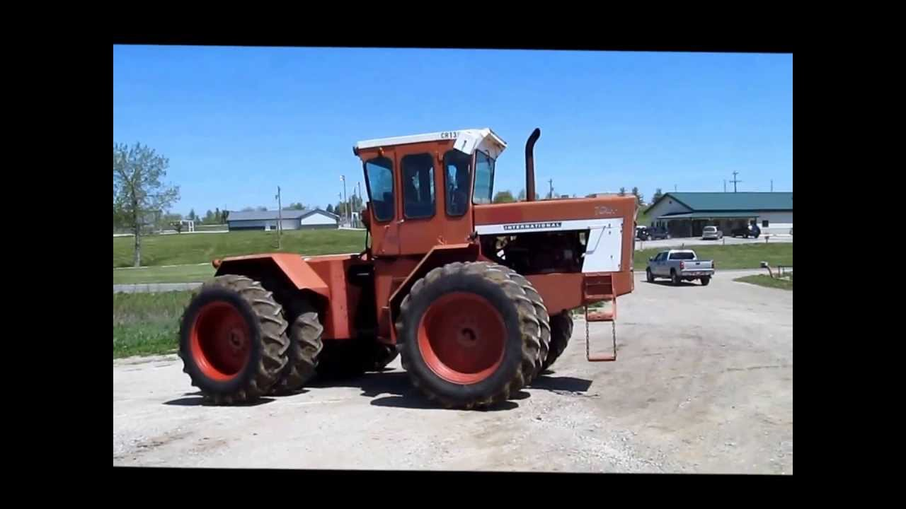 1976 International 4366 4WD tractor for sale | sold at auction May 29, 2013  - YouTube