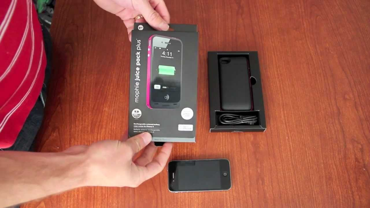 finest selection c19c6 00cf4 mophie juice pack plus Battery Case for iPhone 4 / 4S Review
