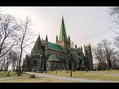 Trondheim, Sør-Trøndelag, Norway - capital of Norway during the Viking Age
