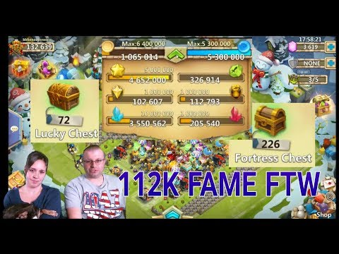 Most Insane Hoarder Warehouse EVER Castle Clash Baby
