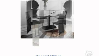 Glass Dining Table - Special Offers In Uk