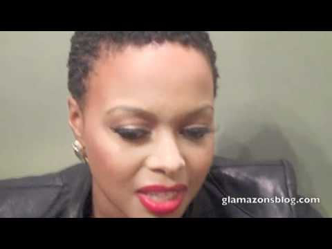 Chrisette Michele Interview at Carol's Daughter for Glamazon TV