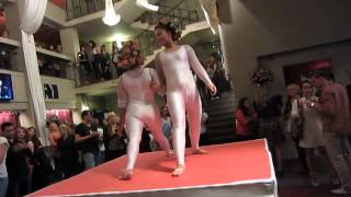 contortion duo at Poleart 2012