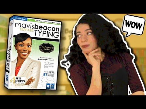 Mavis Beacon: The Original E-Girl