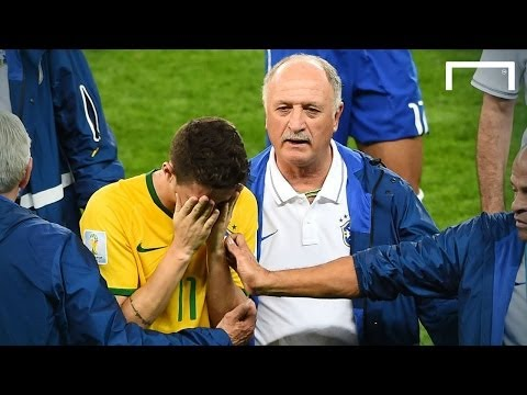 Scolari - 'Six minutes of nightmares' | Brazil 1-7 Germany