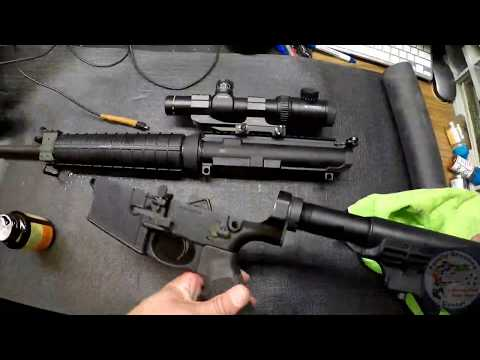 How to disassemble and clean an AR10 or AR15