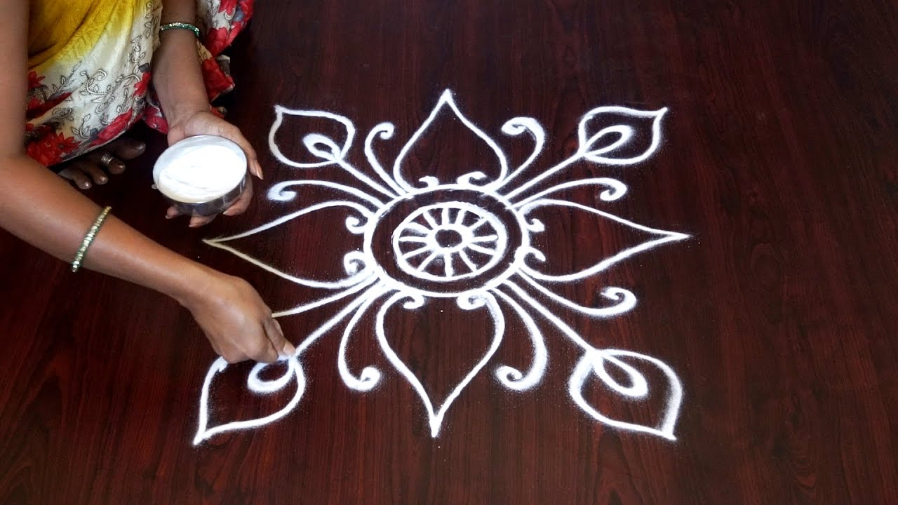 Small And Easy Rangoli Designs || Small Easy Rangoli Designs || Easy And Small  Rangoli Designs