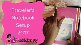 Not a Madori Traveler's Notebook Setup, Fauxdori Setup, How to Organize Your Planner, Planner Tour thumbnail