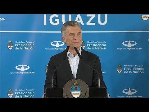 """Macri ponderó desde Iguazú que """"se han duplicado la cantidad de rutas aéreas"""""""