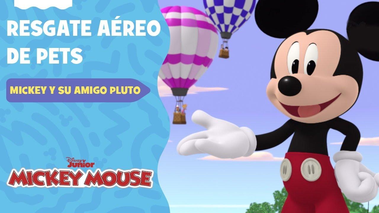 Mickey Mouse e Seu Amigo Pluto   Resgate Aéreo de Pets