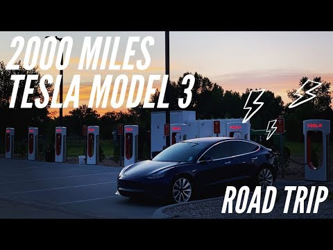 2000 MILE Road Trip | Tesla Model 3 Performance | CO to MN
