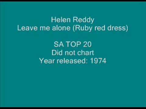 Helen Reddy -  Leave me alone (Ruby red dress).wmv