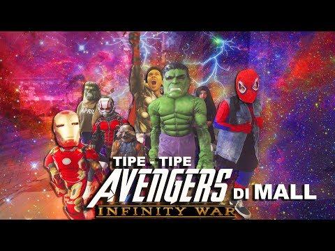 Avengers Infinity War ke Mall | Genhalilintar Tipe - Tipe