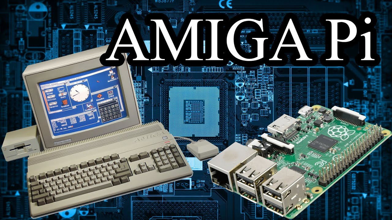 Amiga Gaming: Install Amiga Workbench on Raspberry Pi with Amibian by  StuffJasonDoes