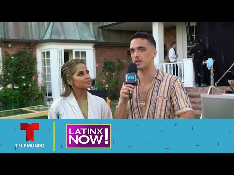 En exclusiva Becky G y C Tangana en su video musical | Latinx Now! | Entretenimiento