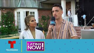 En exclusiva Becky G y C Tangana en su video musical | Latinx Now! | Entretenimiento