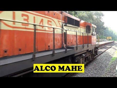 WDM3A Hapa Tirunelveli Overtakes Passenger Mahe