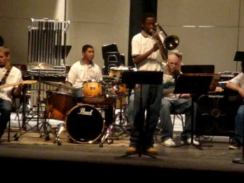 Belleville High School Winter Jazz Band Concert pt: 3