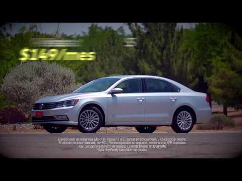 Hoy Volkswagen June 2016 Passat S Lease Especial (Espanol) [HD]