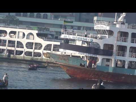 MV Farahan Beautiful Ship Launch Dhaka TO Vola HD Video 62