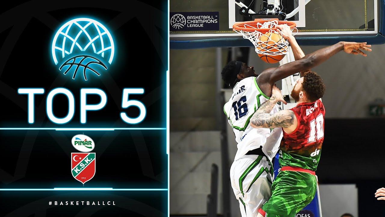 Top 5 Plays | Pinar Karsiyaka | Basketball Champions League 2020/21