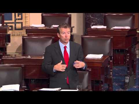 Sen. Paul Urges the Senate to End Illegally Aiding Egypt (Part 3)- July 31, 2013