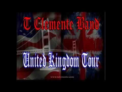 T Clemente Band September 2015 UK Tour