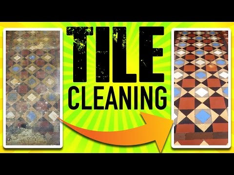 Tile Cleaning - Old Bathroom Tile Cleaning