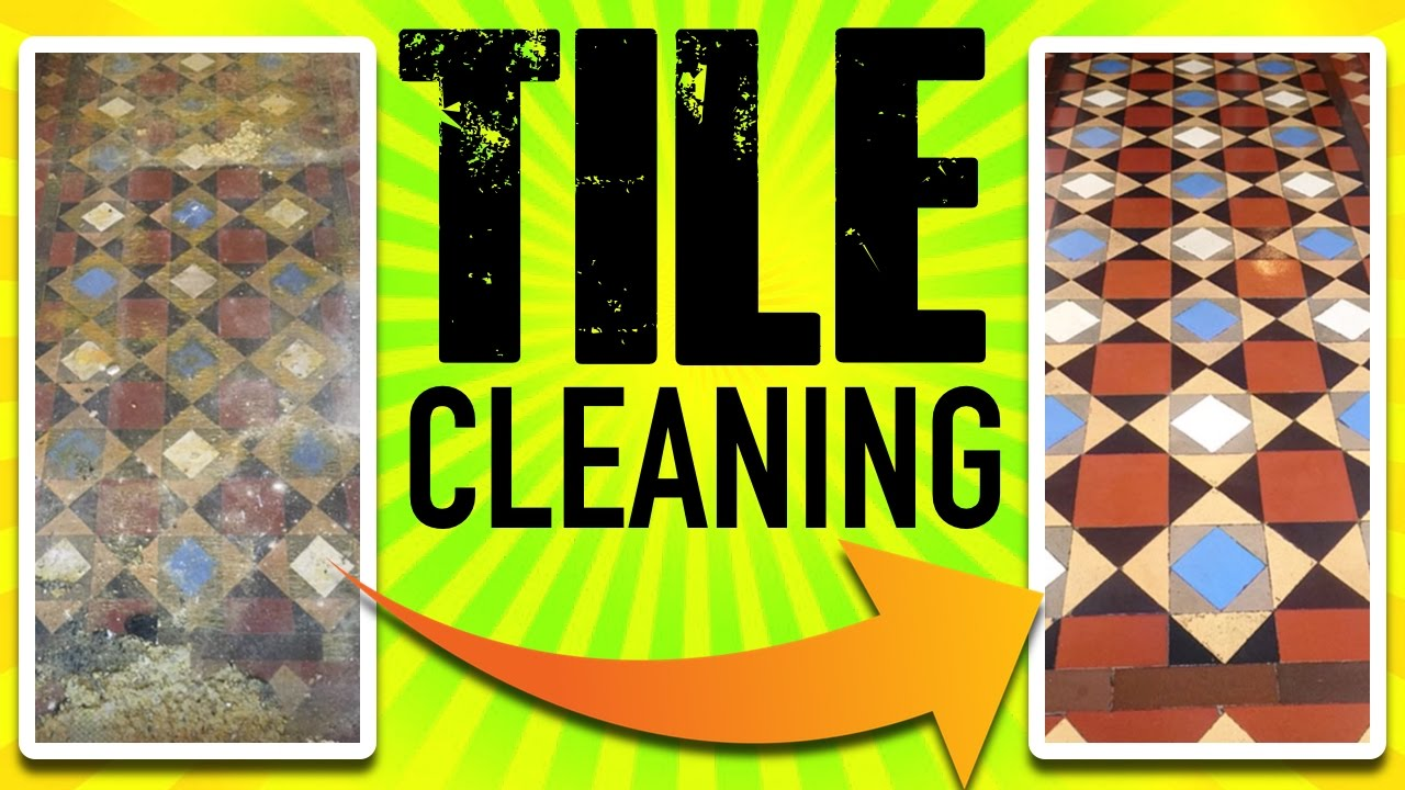 Tile Cleaning Old Bathroom Tile Cleaning YouTube - How to clean old bathroom tile
