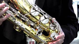 Hyson Music Presents the Yamaha YAS-26 Standard Alto Saxophone - NAMM 2012