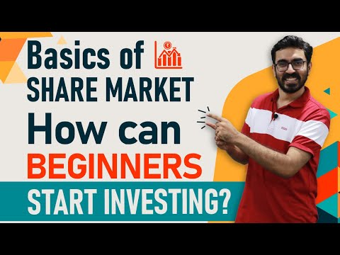 Stock Market For Beginners   How can Beginners Start Investing in Share Market   Hindi