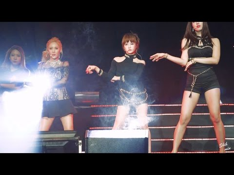 [fancam/직캠] 151024 T-ARA/티아라 Hefei concert/허페이콘서트 - SUGAR FREE (Boram/보람 focus)