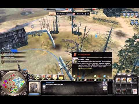 Company of Heroes 2/British forces preview gameplay  