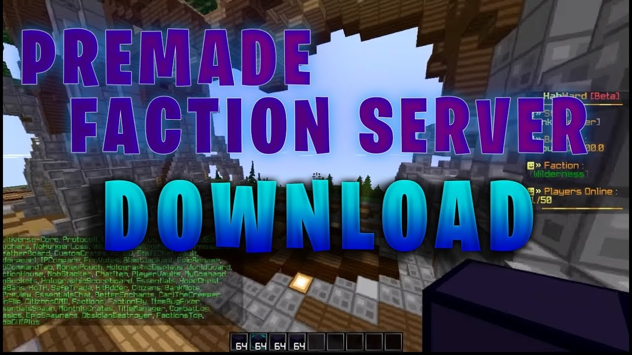 PREMADE FACTION SERVER (DOWNLOAD) by VladoX