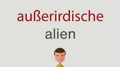 Wie heißt außerirdische auf englisch