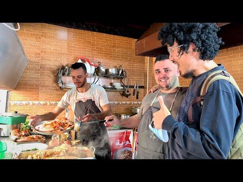 Street Food in Tanger Old Medina 🇲🇦 Travel Morocco
