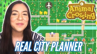 City Planner Designs Her Ideal Animal Crossing City | Happy Island Designer • Professionals Play